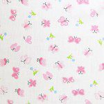 Poly Cotton Printed Fabric Butterfly