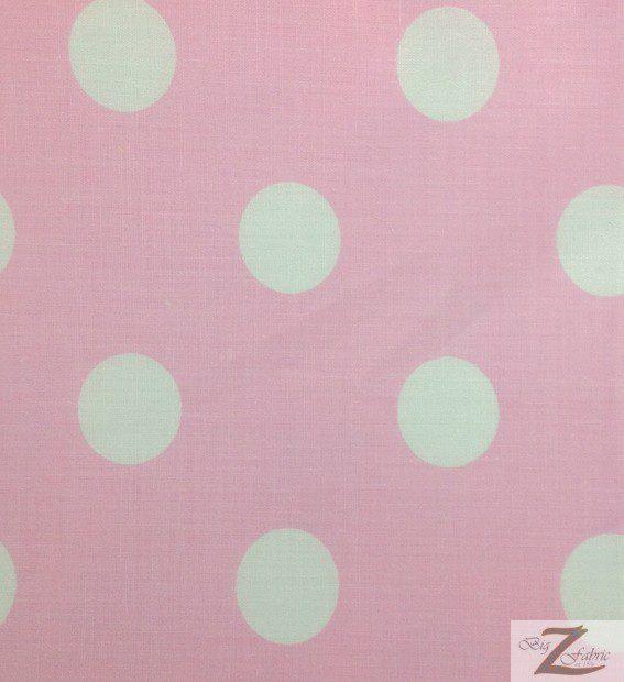 big polka dot poly cotton fabric 100 cotton fabric. Black Bedroom Furniture Sets. Home Design Ideas