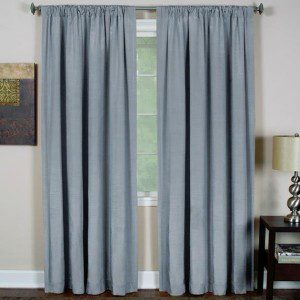 Poly Cotton Fabric Curtain