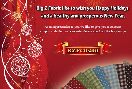 Special Holiday Discount To Buy Poly Cotton Fabric