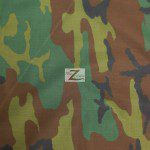 Poly Cotton Printed Fabric Army Camouflage Army 2