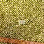 Alexander Henry Cotton Fabric Calico Cutey Green