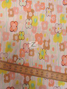 Alexander Henry Cotton Fabric Floral Vivienne Daisy