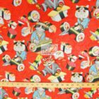 Alexander Henry Rockin' Rolls Sushi Cats Cotton Fabric