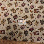 Elizabeth's Studio Cotton Fabric Growing Up