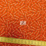 Elizabeth's Studio Cotton Fabric I Love Coffee Red