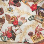 Hoffman California Cotton Fabric Hawaiian Cigars