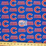 Major League Baseball Cotton Fabric Chicago Cubs