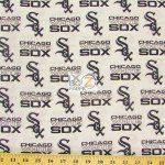 Major League Baseball Cotton Fabric Chicago White Sox