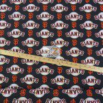 Major League Baseball Cotton Fabric San Francisco Giants