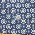Major League Baseball Cotton Fabric Seattle Mariners