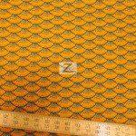 In The Beginning Fabrics Cotton Autumn Harvest Orange