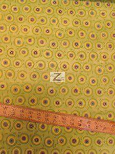 In The Beginning Fabrics Cotton Mooshka Green