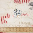 American USA Cotton Fabric Colors Of Freedom Beige