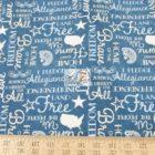 American USA Cotton Fabric Pledge Of Allegiance