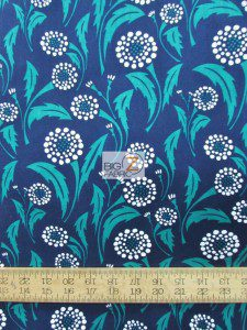 Bryant Park Floral Dandelion Cotton Fabric By Wilmington Prints