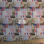 In God We Trust American Cotton Fabric