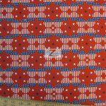 US Circular Flags Allover American Cotton Fabric