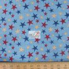 USA American Cotton Fabric Ironwood Ranch Stars