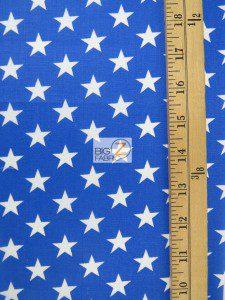 American Stars Poly Cotton Fabric Measurement