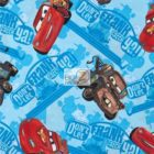 Disney Cotton Fabric Cars Dont Let Frank Catch Ya