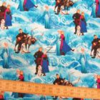 Disney Cotton Fabric Frozen Characters