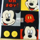 Disney Cotton Fabric Mickey Oh Boy