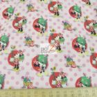Disney Cotton Fabric Minnie Mouse Smell The Flowers