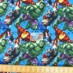 Marvel Avengers Cotton Fabric