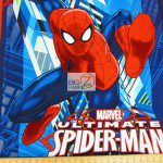 Marvel Comics Ultimate Spiderman Cotton Fabric