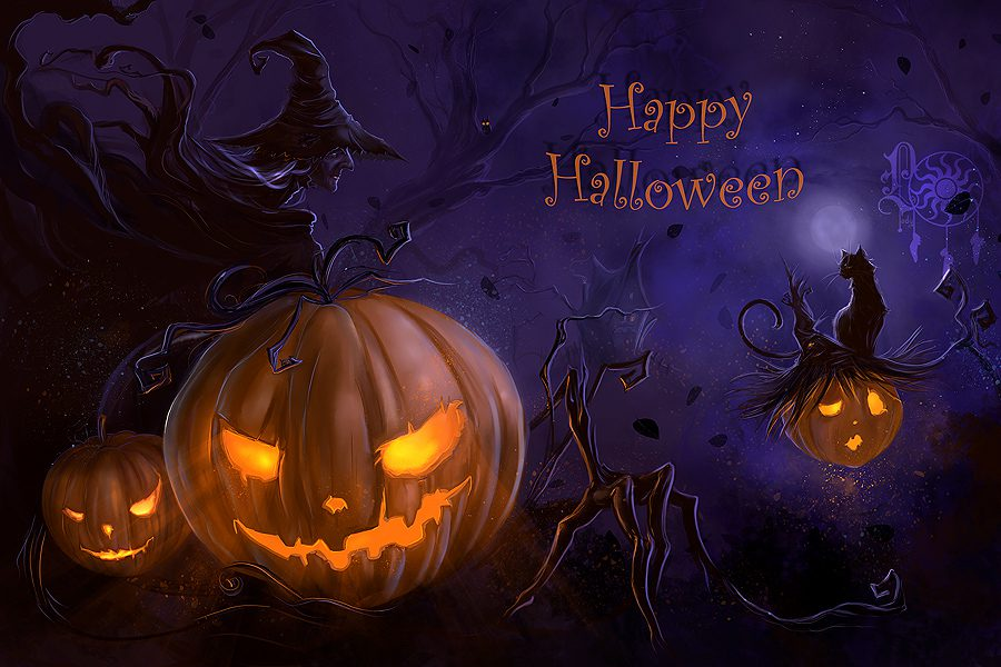Happy Halloween From Big Z Fabric Cotton Collection