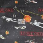 Star Wars Rogue One Battleships Cotton Fabric
