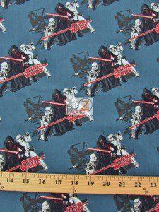 Star Wars The Force Awakens Villains Assemble Cotton Fabric
