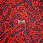 Superman DC Comics Cotton Fabric Comic News Strip