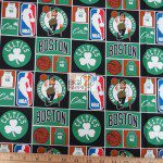 Licensed NBA Cotton Fabric Boston Celtics