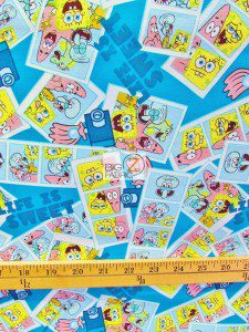 SpongeBob Squarepants Life Is Sweet Cotton Fabric