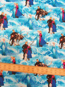Disney Frozen Characters Cotton By Springs Creative