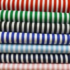 Stripe Poly Cotton Fabric Roll
