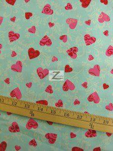 Valentine's Day Cotton Fabric