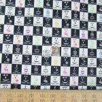 Benartex Cotton Fabric Back Talk Emoji