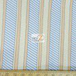Benartex Cotton Fabric Cabana Dotted Stripes