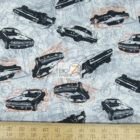 Benartex Cotton Fabric Times Of Your Life Muscle Cars