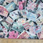 Benartex Cotton Fabric Times Of Your Life Snapshot Memories
