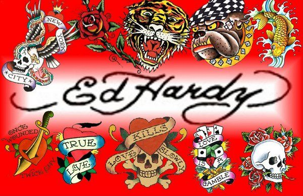 Licensed Ed Hardy Cotton Fabric