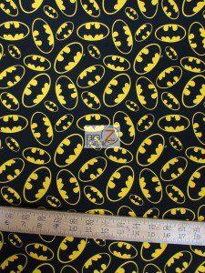 Batman Dawn of Justice Cotton Fabric