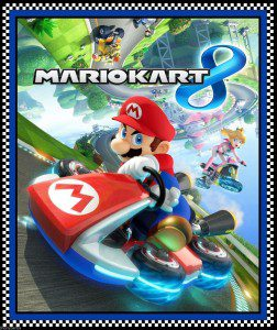 Mario Kart Cotton Panel
