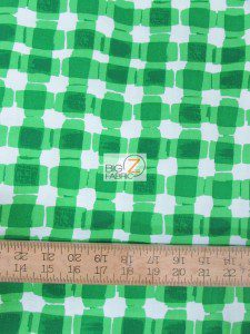 St Patrick's Day Mad For Melon Cotton Fabric
