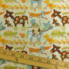 Loralie Designs Cotton Fabric Baby Toy Animals