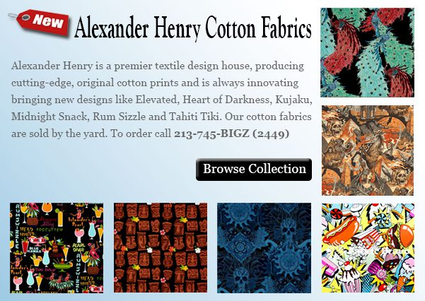 Alexander Henry Licensed Cotton Collection