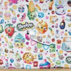 Packed Shopkins Party Cotton Fabric